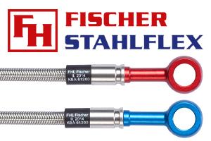 Fischer Stahlflex Brems- und Kupplungsleitungen